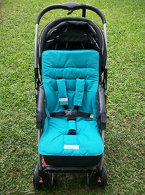 *JADE GREEN*universal stroller,pram,car seat liner set *NEW*