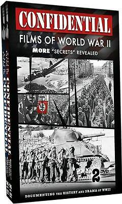 CONFIDENTIAL FILMS OF WWII (2 PACK) - DVD - Sealed Region 1