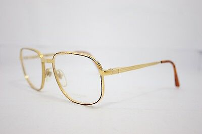 Loris Azzaro Intense 17 01 56mm 18-K Gold Havana Eyewear Eyeglass Frames