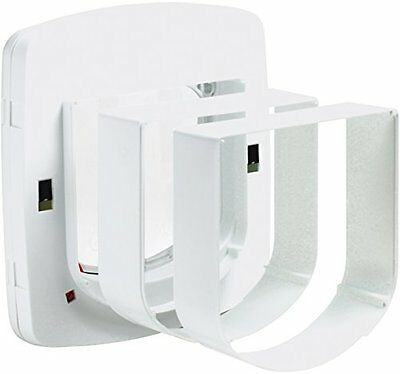 Petsafe Staywell Deluxe Tunnel Extension White Pet Supplies Allows Wall Fitting