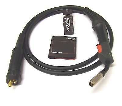 Euro Fitting MIG Welding Torch - MB15 x 3 or 4 MTR welder
