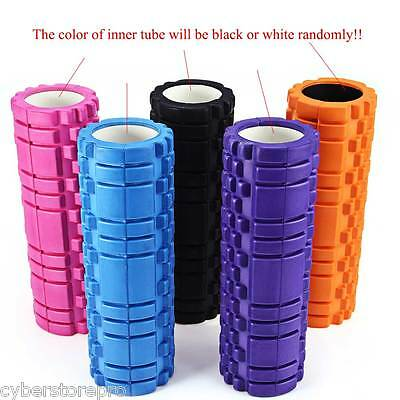 EVA Floating Point Yoga Foam Roller Fitness Gym Pilates Physiotherapy Massage.