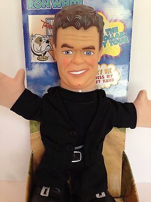 """Ron White Comedian 12"""" Tall Talking Doll 12 Funny Phrases New in Box Toy"""