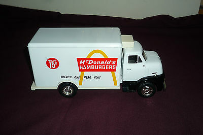 "McDonalds 9"" Diecast Vintage Style Truck Coin Bank"