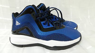 best loved 5e010 1be30 Boys Adidas Crazy Ghost Basketball Shoes S84906 Blue Size 6.5 118E