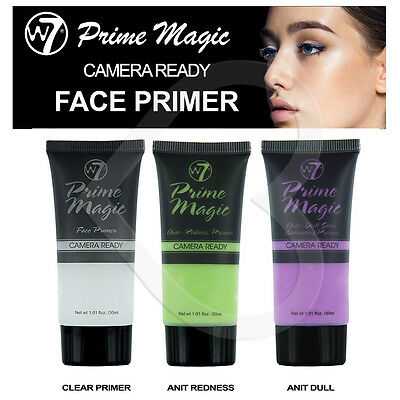 W7 Prime Magic Camera Ready Face Primer Make up Foundation Base & Primer