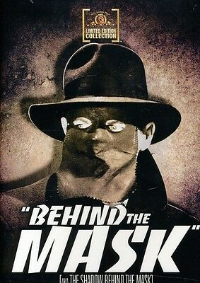 Behind the Mask (2011, DVD NUOVO) BW/DVD-R (REGIONE 0)