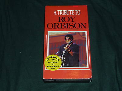 A Tribute To Roy Orbison - 12 of His Greatest Hits VHS