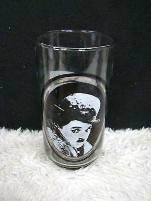 """Take 1 of 6 Charlie Chaplin Arby's Collector Series 5.75"""" Drinking Glass/Tumbler"""