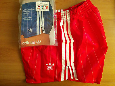 NEW Adidas Vintage Shorts Santiago 70s 80s Shiny Runner Sprinter West Germany