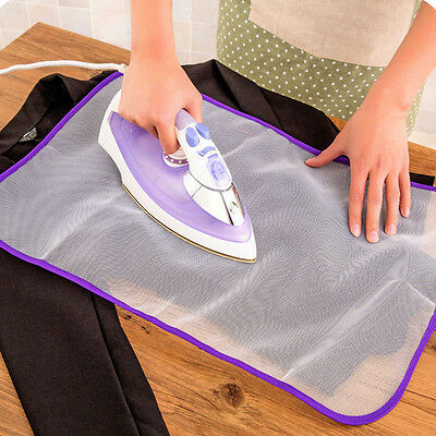 Protective Press Mesh Ironing Cloth Guard Protect Iron Delicate Garment Clothes