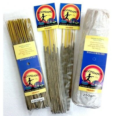 MOONDANCE Quality Incense HEAVEN 250g BULK INCENSE FAST SHIPPING SMUDGE - SAVE