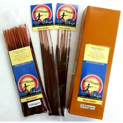 MOONDANCE Quality Incense WILD HONEY 100g BULK INCENSE FAST SHIPPING SMUDGE