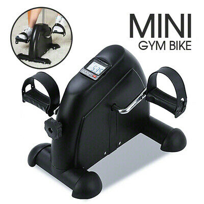 Portable Exerciser Mini Bike Trainer Exercise Machine Desk Home Gym Pedal Cycle