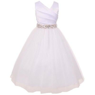 Flower Girl Dresses Bridesmaid Wedding Birthday Party Formal Graduation Pageant