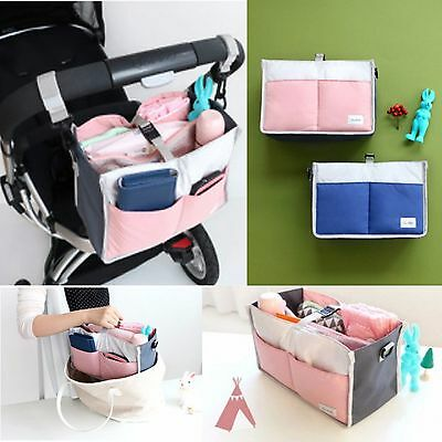Bag Insert Organiser Handbag Women Travel Purse Wallet Stroller Pram Organizer