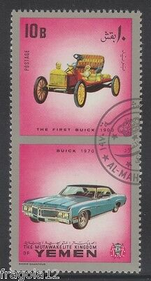 Kingdom North Yemen 1970 - Automobili - Cars - Buick - B. 10 - Usato