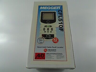 New - Megger Avo , Cfl510F Hand-Held Cable Fault Locator