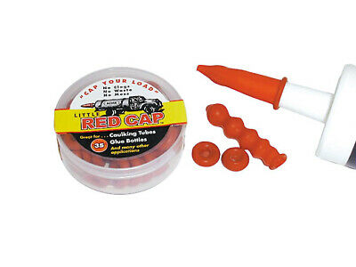 Little Red Cap Caulking Tube Cover, PartNo LRC, by Little Red Cap