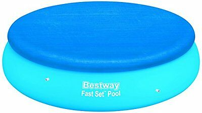 Bestway 8Ft Debris Cover For Fast Set Swimming Pools 58032 Garden & Patio New U