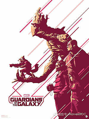 A3 Size - Guardians Of The Galaxy 1 Popular Gift // Wall Decor Art Print Poster