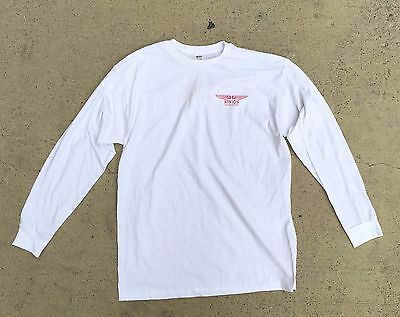 SURFING - Mike Hynson Surfboards - White Long Sleeve T-Shirt *NEW*