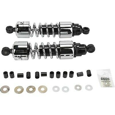 "Progressive Suspension - 412-4209C - Chrome 12.5"" 412 Series Standard Shocks"
