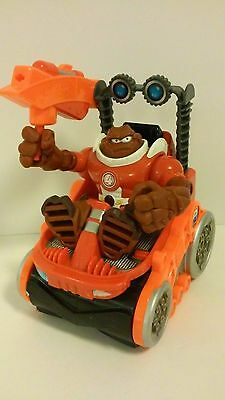 """Fisher Price Planet Heroes #4 MARS """"Digger"""" Action Figure w/Rumble Rover VGC"""