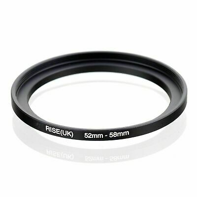 52-58mm Step-Up Metal Adapter Ring / 52mm Lens to 58mm Accessory+GIFT B