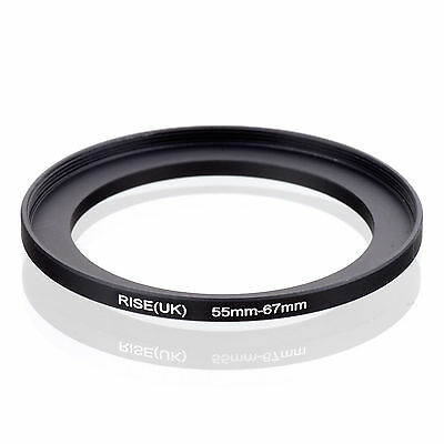 55mm to 67mm 55-67 55-67mm55mm-67mm Stepping Step Up Filter Ring Adapter