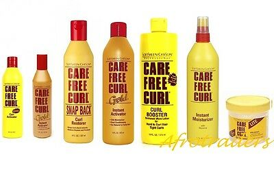 Care Free Curl Hair Products - For Natural And Curly Hair