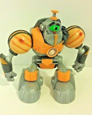 """2006 Planet Heroes Jupiter """"Gustus"""" Action Figure with Companion Dog VGC"""