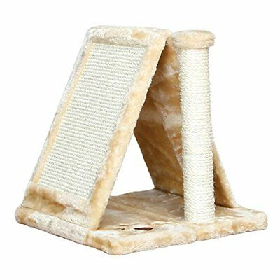 Trixie 43741 Avila Scratching Post 40 Cm Beige Pet Supplies With Plush Cover New