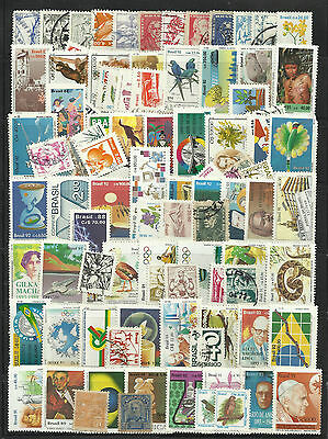 BRAZIL STAMP COLLECTION  PACKET of 100 DIFFERENT Stamps