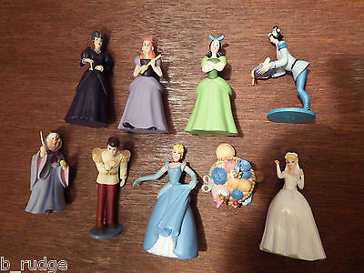 Disney Princess Cinderella figure toy playset ugly sisters wicked step mother