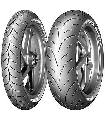 Motorcycle Sports Tyres Dunlop D209 Qualifier 120/70/ZR17 & 190/50/ZR17 Pair New