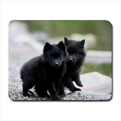 Cute Schipperke Mousepad (Neoprene Non-slip Mousemat) - Puppy Dog