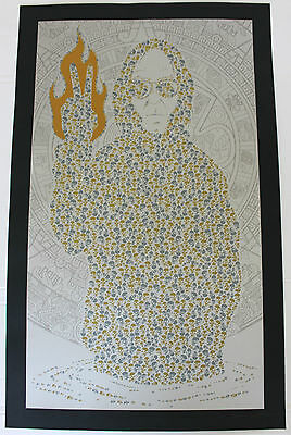Neil Young Dancing Across Water Print Poster LIMITED Only 30 in World Jermaine