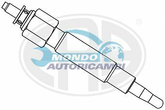 Candeletta Accensione Nissan Pick Up (D22) 2.5 D 4Wd 61Kw 83Cv 02/1998  Gn994
