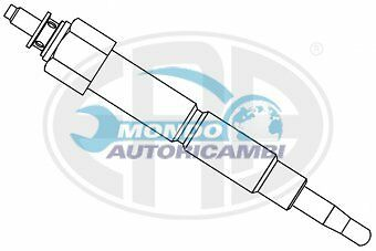 CANDELETTA ACCENSIONE NISSAN SUNNY III Traveller 2.0 D 55KW 75CV 06/1991 03/00