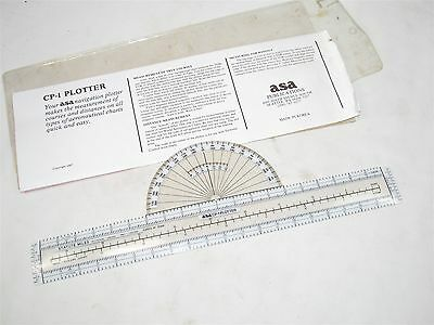 ASA CP-1 Aeronautical Navigation Plotter (32140)