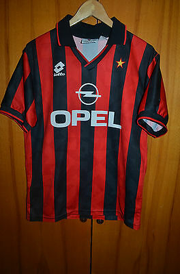 Ac Milan Italy 1994/1995 Home Football Shirt Jersey Maglia Lotto Vintage