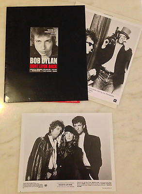 Bob Dylan Press Kit Photos: DONT LOOK BACK (w/ D.A. Pennebaker) & HEARTS OF FIRE
