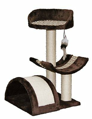 Kerbl Cat Tree Safari 38 X 38 X 60 Cm Dark Brown Pet Supplies Cats Love A Hunti