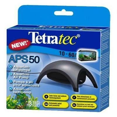 Tetra Aps50 Air Pump Pet Supplies For Tanks 10 To 60L 1Outlet, 1 Valve New UK S