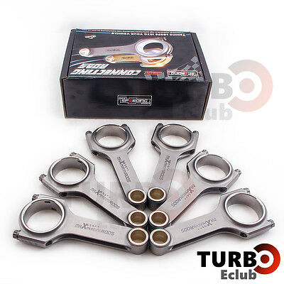 Connecting Rod Rods for VW Golf Corrado III 2.8L 2.9L VR6 Conrod 164MM TCB