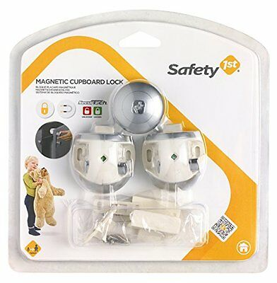 Pack Of 2 Safety 1St Magnetic Lock () Secure But Easy To Operate Lock New UK SE