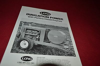 Long Tractor Irrigation Power With Perkins Engines Dealer's Brochure YABE8