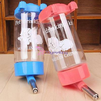 500ml Automatic Pet Food Drink Dispenser Dog Cat Puppy Feeder Water Bowl Dish