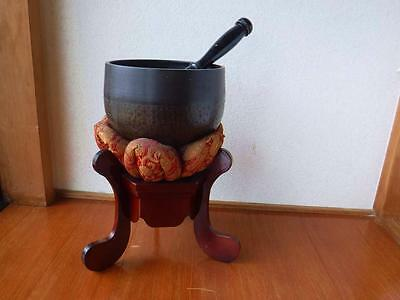 Japanese Bronze Temple Bell bowl Buddhist  EMS 2weeks arrive!